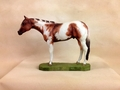 "Full Body Medium Size ""Tobiano Paint"" Statue"