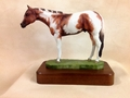 "Full Body Medium Size ""Tobiano Paint"" trophy"