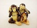 Swarovski Jeweled Three Monkeys
