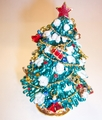 Jeweled Christmas Tree Green
