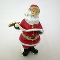 Jeweled Santa Clause w/ Scroll