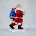 Jeweled Santa w/ Gift Bag
