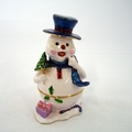 Jeweled Snowman White