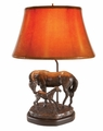Mare & Foal Lamp
