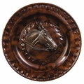Pie Crust Edge Horse Charger