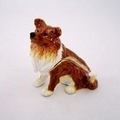 Swarovski Jeweled Sitting Collie