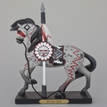 """The Grey Ghost"" Painted Ponies Figurine"