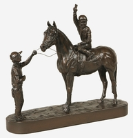 Winners Circle Horse Sculpture
