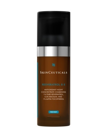 SkinCeuticals Resveratrol BE Pro 1.7 oz Eos Evolution of Smooth - Weightless Hydration Crystal Lip Balm Sphere Hibiscus Peach - 0.25 oz. (pack of 3)