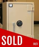 """Adesco CMP4290 Fire and """"C"""" rated Burgalry safe Used"""