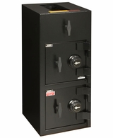 American Security DST3214 Double Door Depository Safe