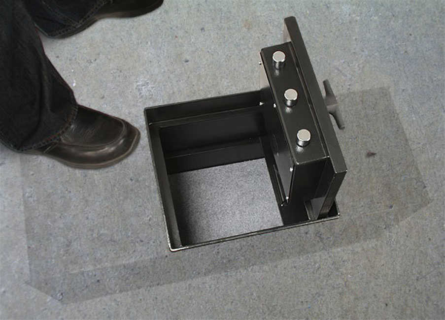 American Security B5800e5 Amsec Super Brute Floor Safe