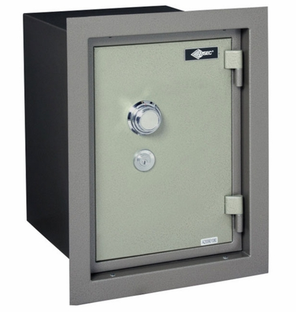 American Security WFS149D Wall Safe With Slight Frame Damage