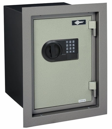 Wall Safes For Home american security wfs149e5lp amsec fireproof wall safe - wall safes