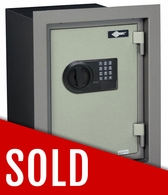 American Security WFS149E5 AMSEC 1 Hour Fire Resistant Wall Safe - Shipping Damage