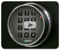 AMSEC ESL5 & ESL10 Electronic Lock Instructions