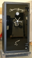Amsec NF6032 Gun Safe Two Tone back from Rental