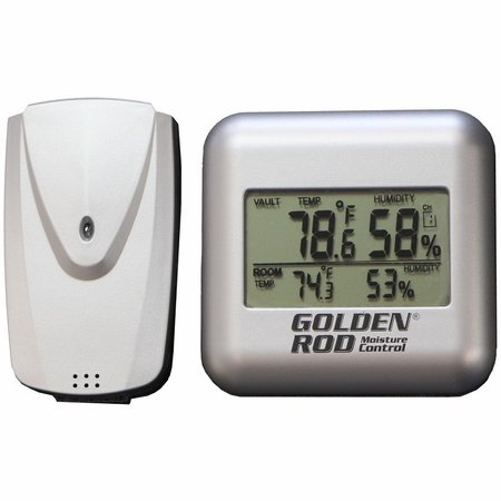Goldenrod Wireless Hygrometer Wireless Safe Sensor