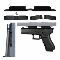 Gun Storage Solutions Multi-Mags Magazine and Gun Mounting Magnets