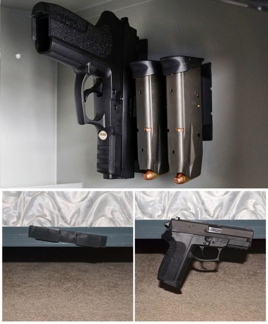 Gun Storage Solutions Multi Mags Magazine And Gun Mounting Magnets