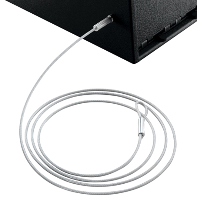 Gun Safes Cables Accessories : Gun vault security cable free shipping by us post office