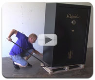 How To: Gun Safe Moving, Removing the Pallet, & Leveling the Safe