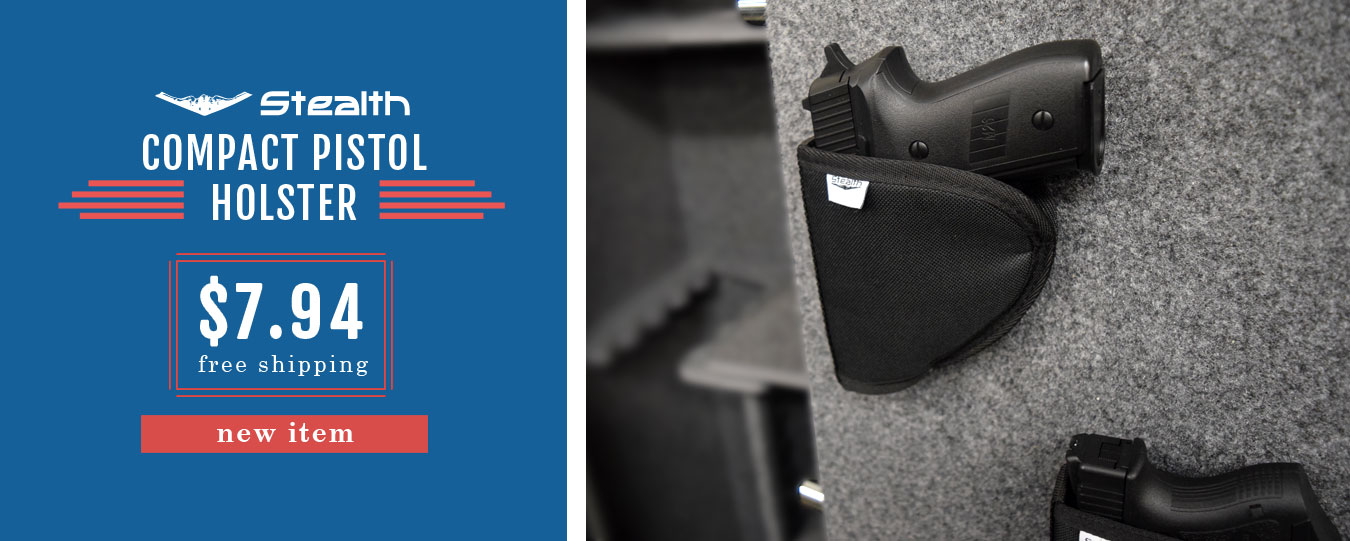 NEW Stealth Compact Velcro Pistol Holster