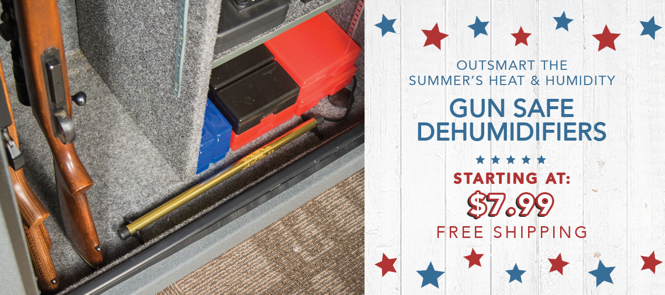 Beat the Summer Heat and Humidity | Gun Safe Dehumidifiers