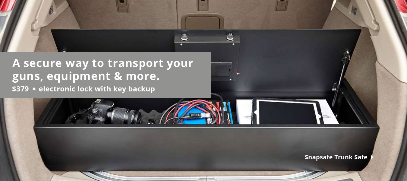 Snap Safe Trunk Safe | Rife Shotgun Car Transport Storage