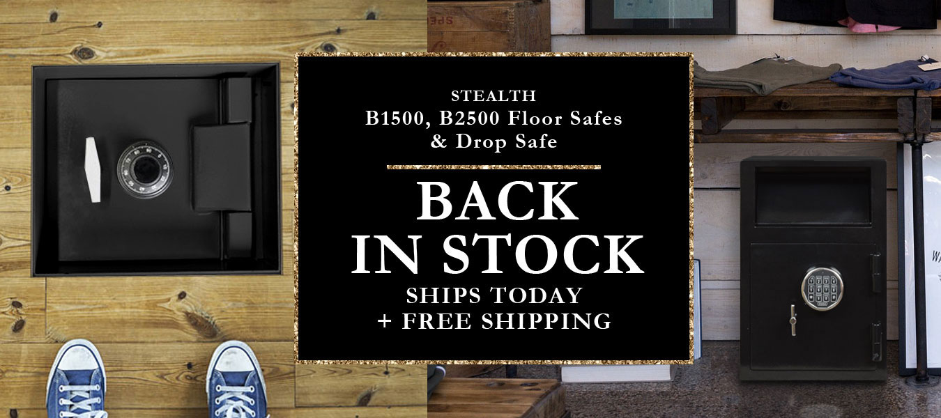 Stealth Items Back in Stock