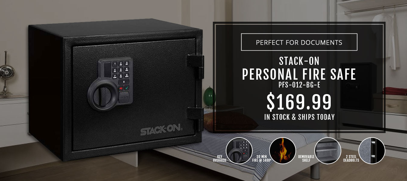 Stack-On Large Personal Fire Safe