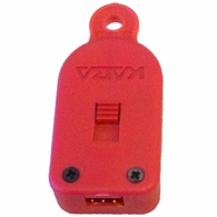 Red Audit Retrieval Key Fob for V-Line 6912-SE Narcotics Security Box