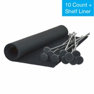 Gun Storage Solutions Rifle Rods 10 Rod Starter Pack