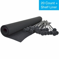 Gun Storage Solutions Rifle Rods 20 Rod Starter Pack