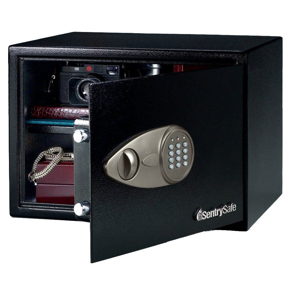 office max safe sentry x125 handgun safe and strong box with digital 23944
