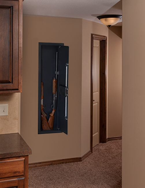 Wall Safes For Home stack-on long gun wall safe with electronic lock pws-1555 - wall safes