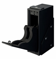 Stack-On Single Pistol Quick Access Safe with Biometric Lock QAS-1514-B