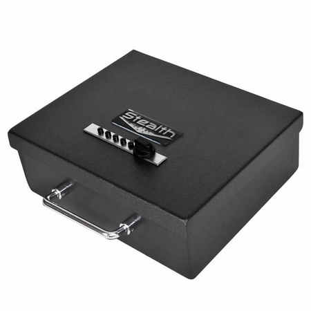 Stealth Portable Handgun Safe EZ Pistol Box