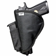 "<span class=""in-stock""></span>Stealth XL Velcro Pistol Holster with Side Clip Attachment"
