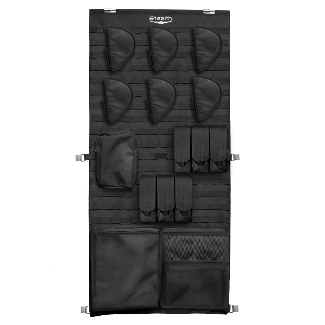 Stealth Tactical Molle Gun Safe Door Panel Organizer Medium