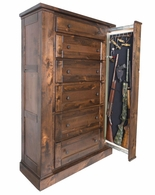 Willa-Hide Tactical Hidden Drawer Chest Concealment Furniture
