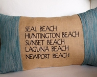Beach Cities Pillow