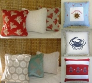 Beach house pillows