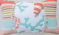 Beach Pillow Oblong Coastline