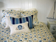 Bedding Hampton Blue 1