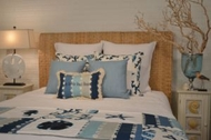 Blue Coral Bedding Capri Blue
