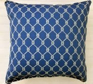 Blue Knot Indoor/Outdoor Pillow