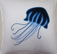 Capri Newport Jelly fish Pillow