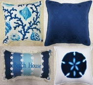 Coastal Pillows Capri Collection