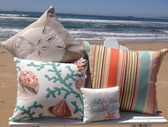 Coastal Pillows Coral Oasis